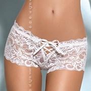 Boxerky čipkované Bloom shorts White