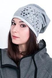 Dámska bavlnená čiapka Silvery