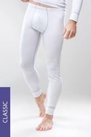 Termo nohavice pánske Classic - biele