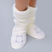 Hrejivé ponožky Duffy Ecru