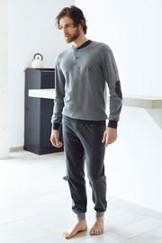 Pánsky bavlnený komplet Angelo šedý