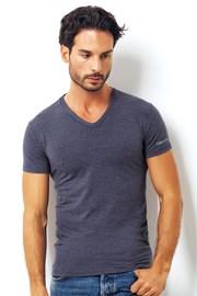 Pánske talianske tričko Enrico Coveri 1505 Blue