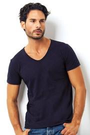 Pánske talianske tričko Enrico Coveri 1512 Blue