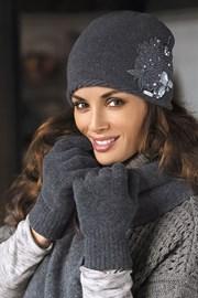 Dámske rukavice Juana Grafit