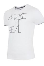 Pánske značkové tričko 4F TSM008 White