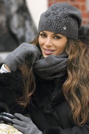 Dámske rukavice Marianella Grafit