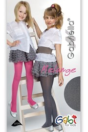 Dievčenské pančuchové nohavice Melange