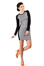 Dámske jesenné šaty 3 Moe039
