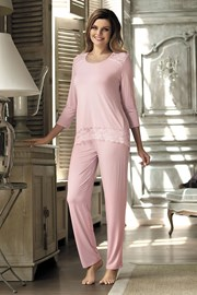 Dámske elegantné pyžamo Olimpia Pink