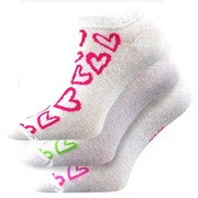 3pack ponožiek Piki Mix 40 biele