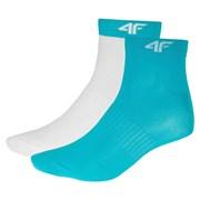 Dámske športové ponožky Turqoise - 2pack