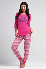 Dámske pyžamo La Vie pink