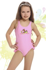 Plavky dievčenské Smiling ružové