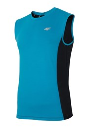 Pánske športové tričko bez rukávov 4f Blue