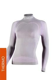 Tričko Thermo Line W03 dámske šedoružové