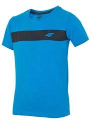 Detské bavlnené tričko Blue 4f