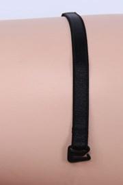 Textilné ramienka 10 mm čierne