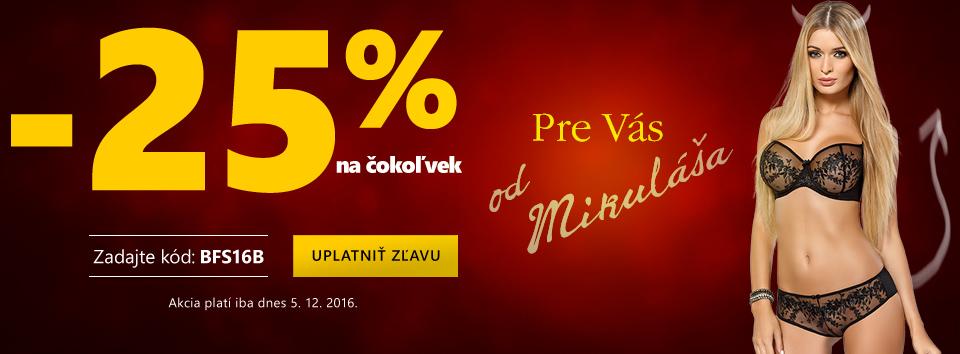 Mikuláš 25 %