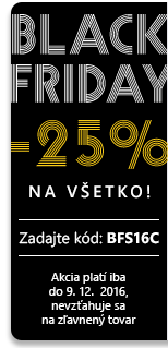 Black Friday 25 %