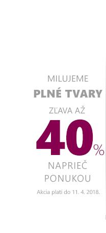 Plné tvary až -40 %