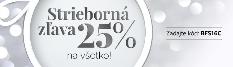 Stříbrná sleva až -25 %!
