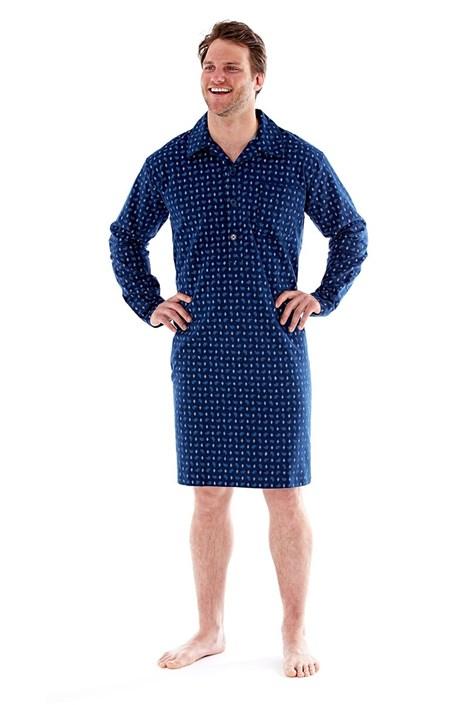 Pánska nočná košeľa Robert Navy