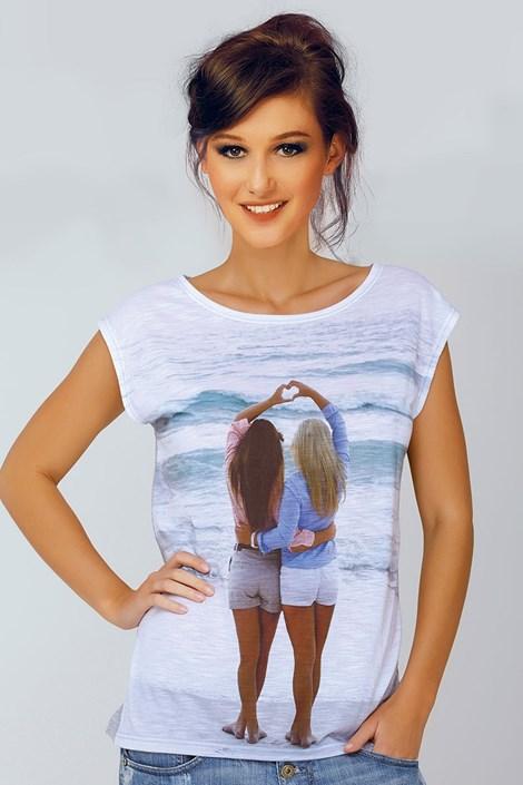 Dámske talianske tričko Jadea 4528