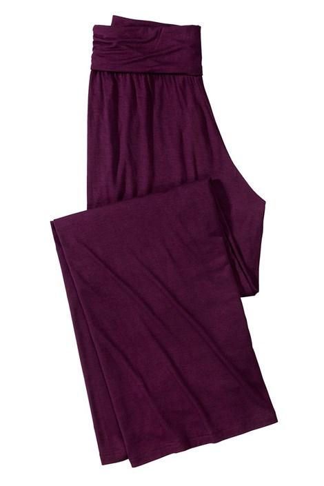 Dámske pohodlné nohavice Fashion Bordo
