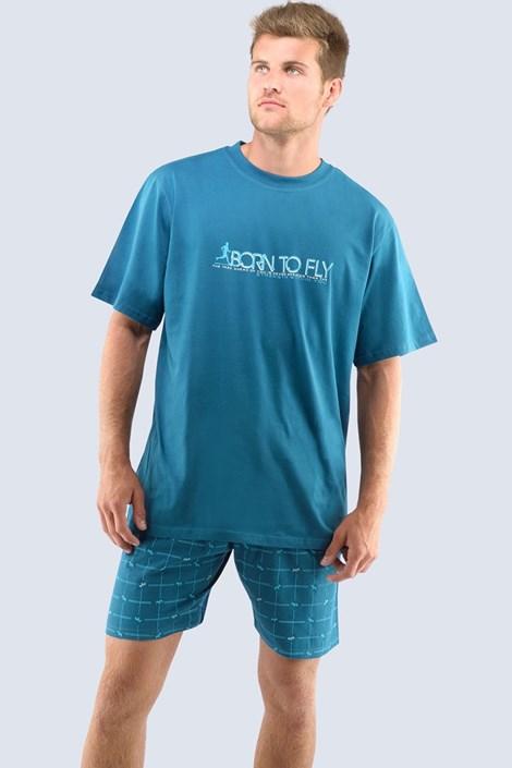 Pánske pyžamo Born to fly - krátke