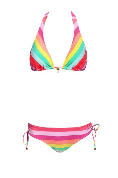Dámske dvojdielne plavky Pastel Stripes 2