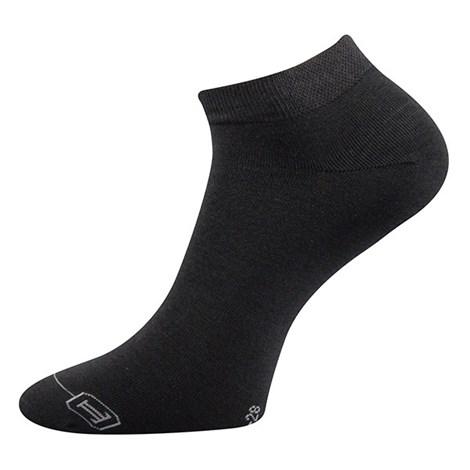 3pack ponožiek Deba čierna bambus