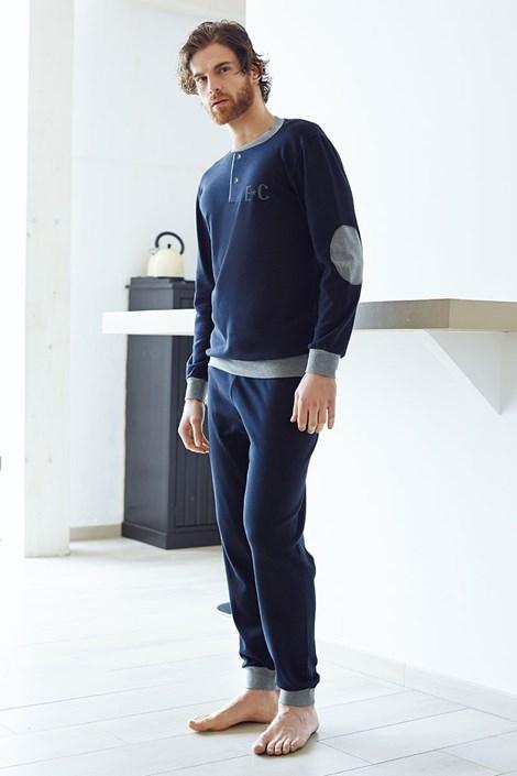 Pánsky bavlnený komplet Angelo modrý