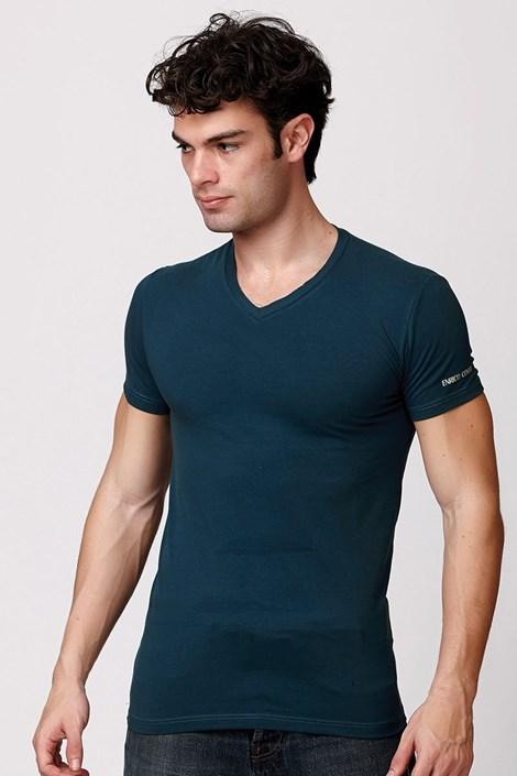 Pánske talianske tričko Enrico Coveri ET1501 Otanio bavlnené