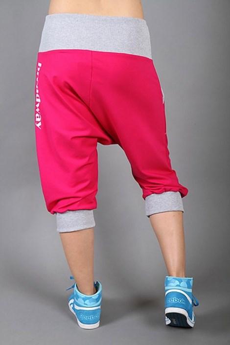Športové nohavice Electric magenta