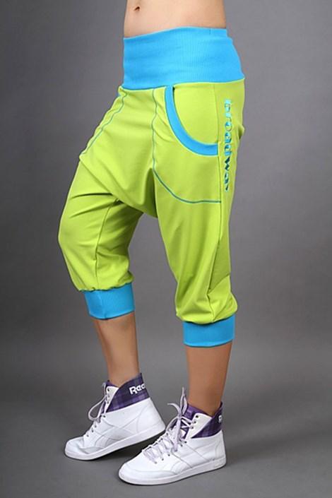 Športové nohavice Electric lemon
