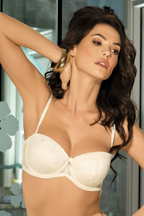 Podprsenka Elise Strapless bardot Push-Up