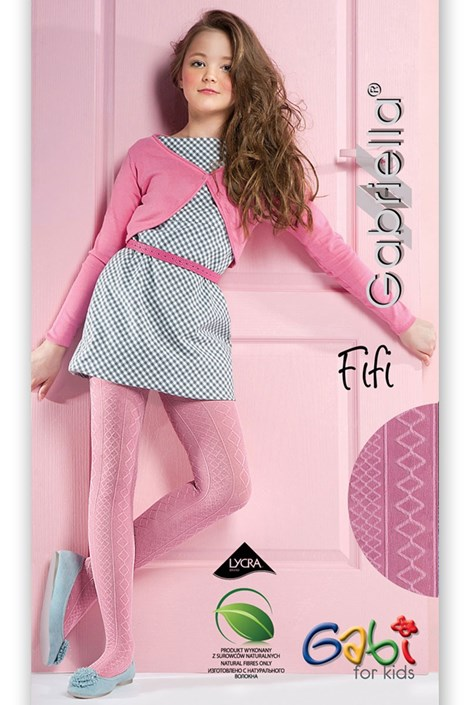 Dievčenské pančuchové nohavice Fifi