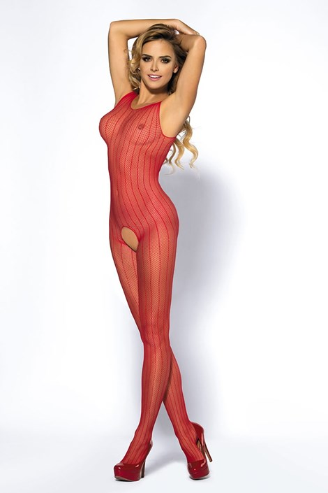 Bodystocking Joyce Red