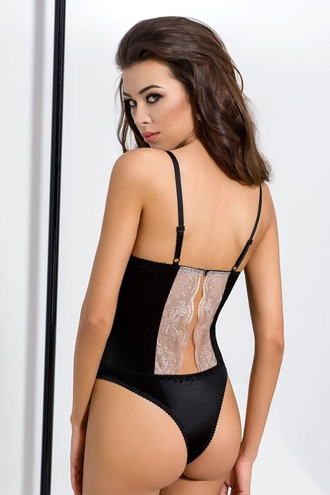 Elegantné body Lotus Black