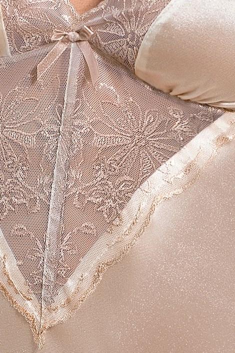 Elegantná košieľka Lotus Cream