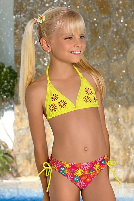 Dievčenské plavky Flower M46