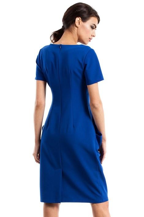 Dámske elegantné šaty s vreckami Moe234