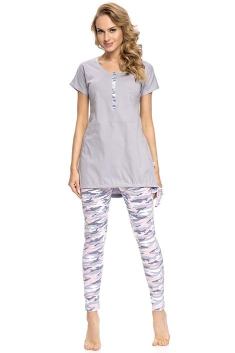 Dámske pyžamo Army Grey