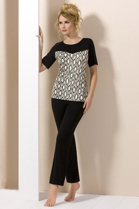 Elegantné dámske pyžamo Lady Black
