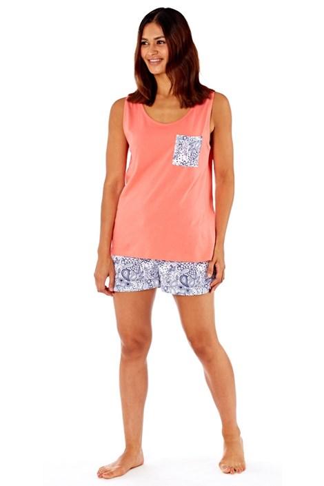 Dámske bavlnené pyžamo Piasley