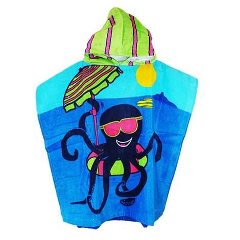 Detské pončo Octopus