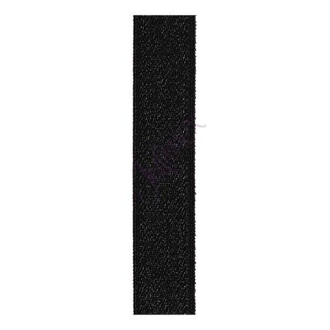 Textílne ramienka 18 mm čierne