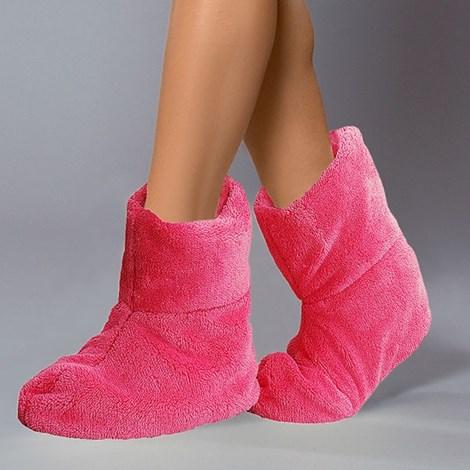 Hrejivé papuče Pink