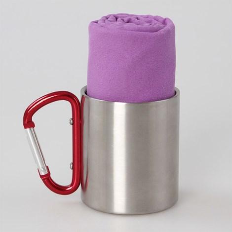 Funkčný uterák a osuška fialová