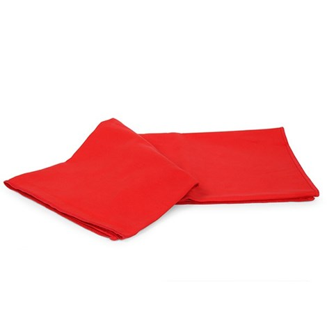Funkčný uterák a osuška červená